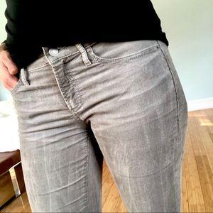 Gap light grey corduroy skinny pants